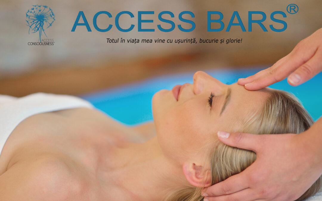 Terapia Access Bars – relaxează mintea și corpul